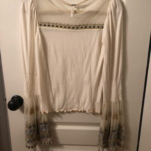 Free People Long Sleeve Top